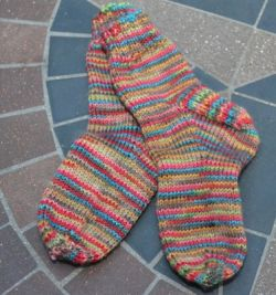 Simple Toddler Socks by Sarah E White