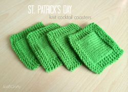 St. Patrick's Day Cocktail Coasters