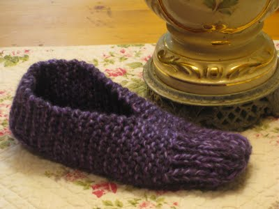 Knitting Patterns Galore Easy Slippers
