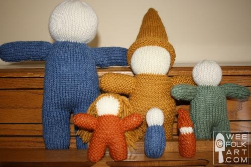 Knitting Patterns Galore Basic Knit Doll In 6 Sizes