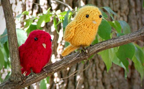 Knitting Patterns Galore Little Birds