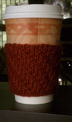 Leaning Rib Coffee Cozy