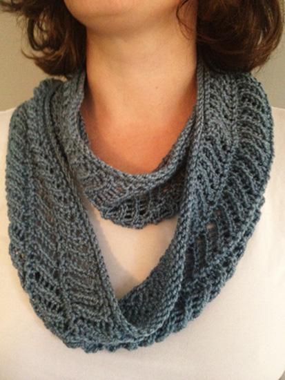 Knitting Patterns Galore - Sweet Memories Cowl