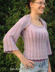 Vine Lace Summer Shrug