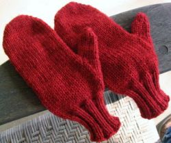 Mittens From the Top: Any Size, Any Gauge, Top-Down