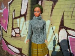 Barbie Extra Fine Turtleneck Sweater