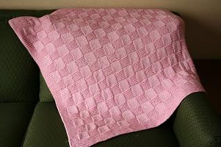 Knitting Patterns Galore Nmcrs Basketweave Baby Blanket