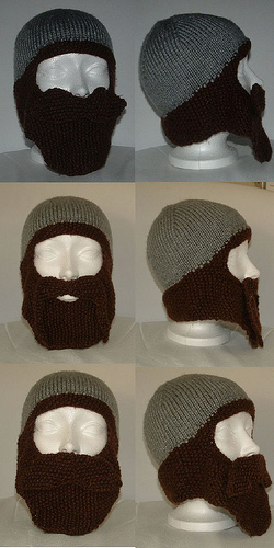 Knitting Patterns Galore Bearded Toque