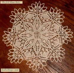 The Little Flower Doily