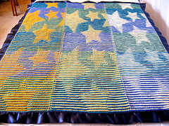 Star Illusion Blanket