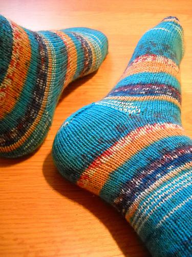 Knitting Patterns Galore - Simple Socks My Way