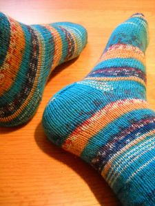 Simple Socks My Way