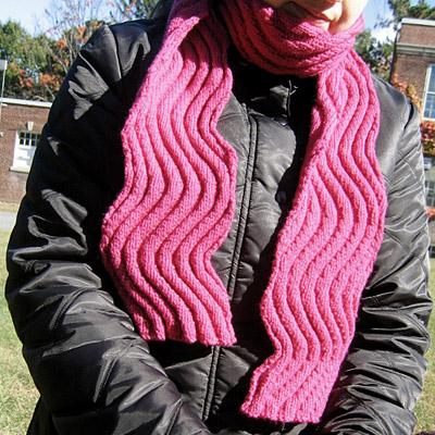 Knitting Patterns Galore Wavy