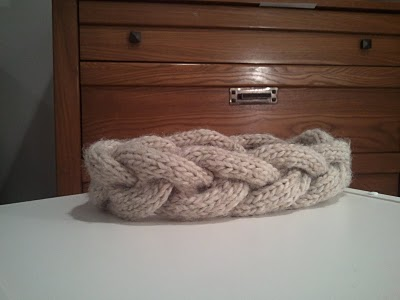 Knitting Patterns Galore - Anthropologie Inspired Plaited Headband