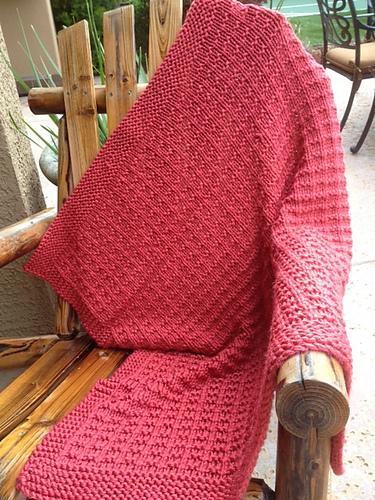 Knitting Patterns Galore Cashews Lap Blanket