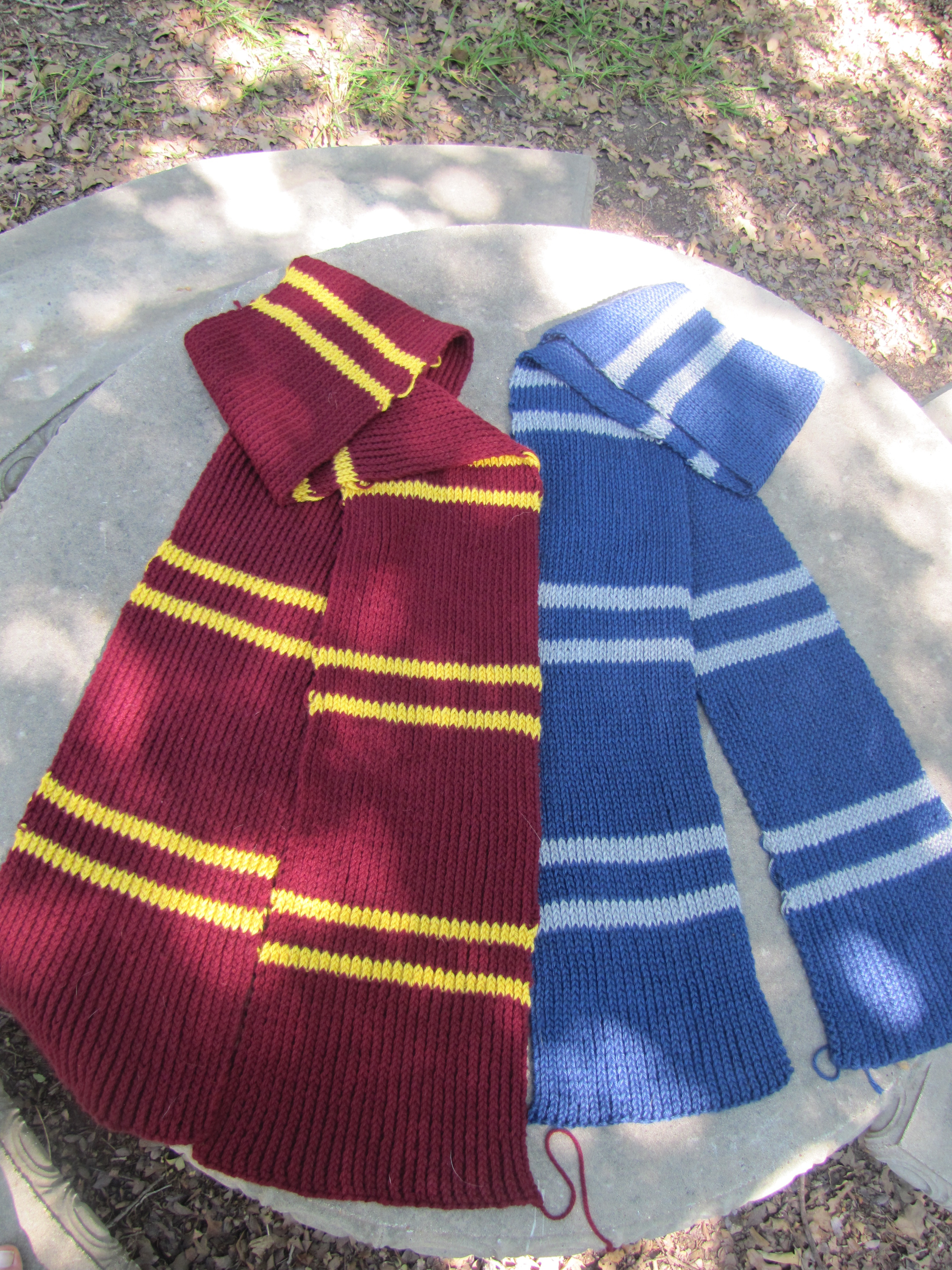 Knitting Patterns Galore - Hogwarts Scarf Mk II