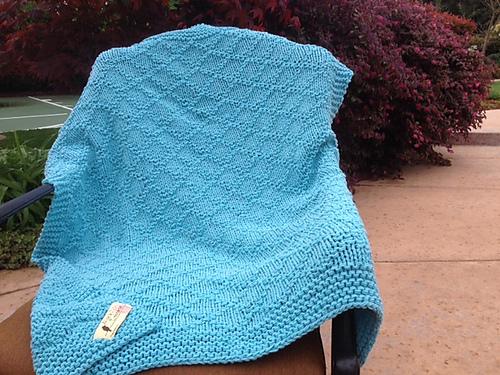 Knitting Patterns Galore Counted Cross Stitch Lap Blanket