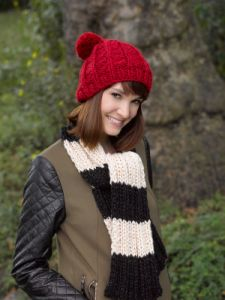 Slouchy Ribbed Hat