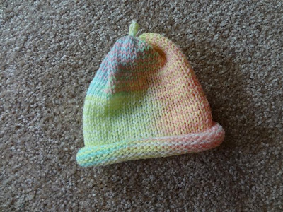 Knitting Patterns Galore - Super Simple One Hour Baby Hat. - Knitting