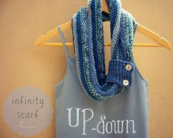 Up-Down Infinity Scarf