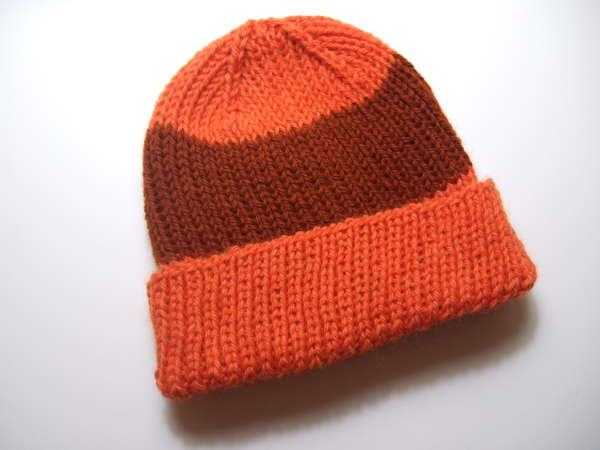 Knitting Patterns Galore - Basic Ribbed Hat 7ee1072a717
