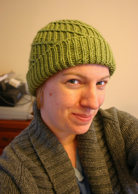 Knitting Patterns Galore Spiral Ribbed Hat