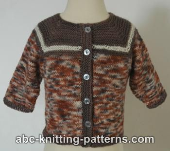 c4344f63f Knitting Patterns Galore - Seamless Baby Cardigan