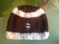 Preemie Football Hat