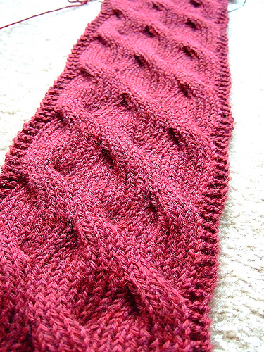 Knitting Patterns Galore Manitou Passage Scarf
