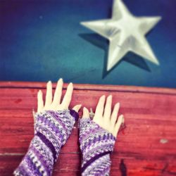 Triangulation Wrist Warmers