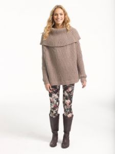Lush Ribbed Pullover