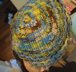 2x2 Rib Hat (With Triangle on Top)
