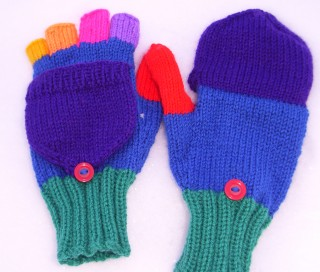 Fingerless Gloves/Glittens