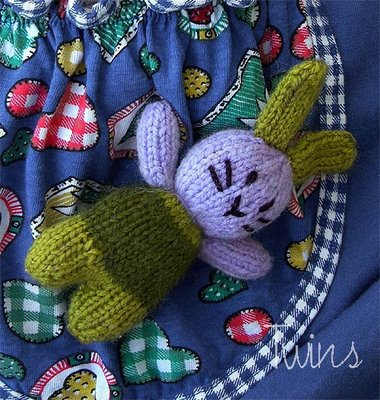 Knitting Patterns Galore Amigurumi Pocket Bunny