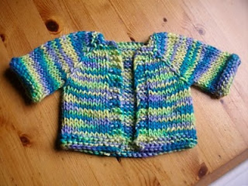 585f321e8 Knitting Patterns Galore - Chunky Alpaca Baby Jacket