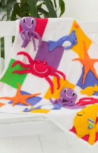 Sea Creatures Throw