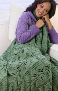Hawaiian Lacy Fern Throw