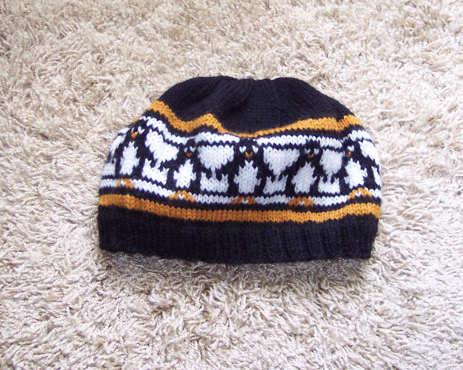 Knitting Patterns Galore - Penguins Galore Hat