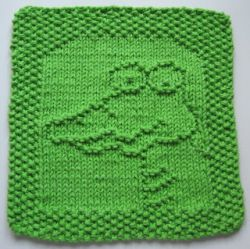 Fred the Croc Cloth
