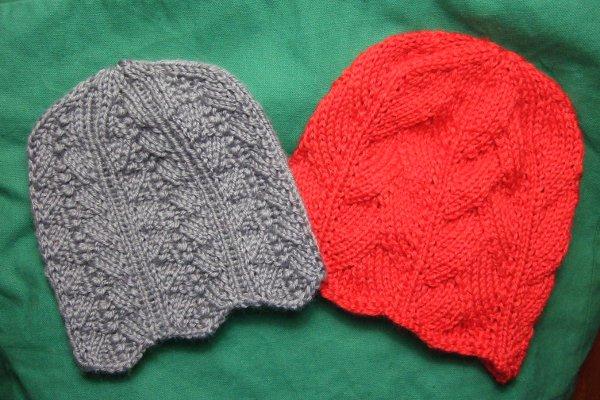 Knitting Patterns Galore Two Feminine Chemo Caps