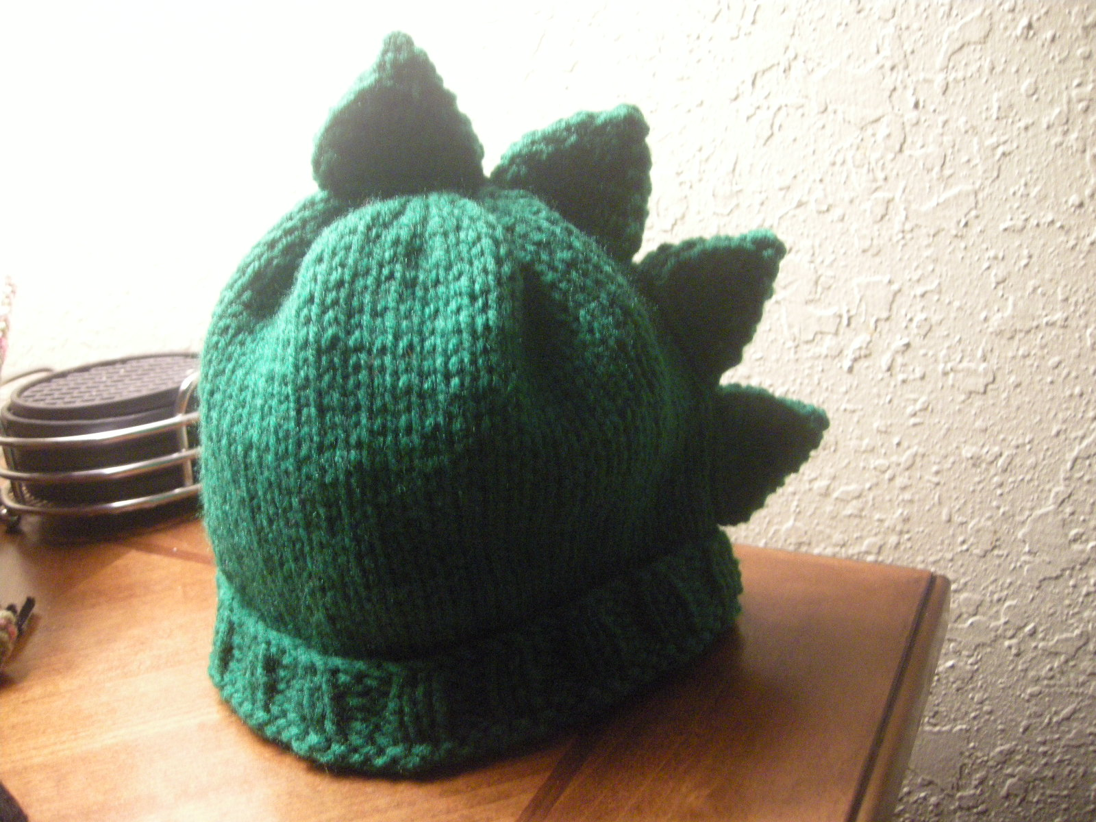 Knitting Patterns Galore Easy Dinosaur Spikes