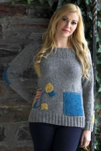 Patchwork Guernsey Pullover