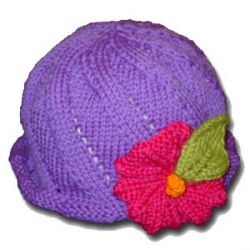 Twist and Sprout Hat