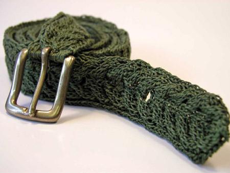 Knitting Patterns Galore Boulder Belt