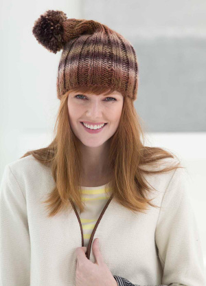 Knitting Patterns Galore Tall Ribbed Hat