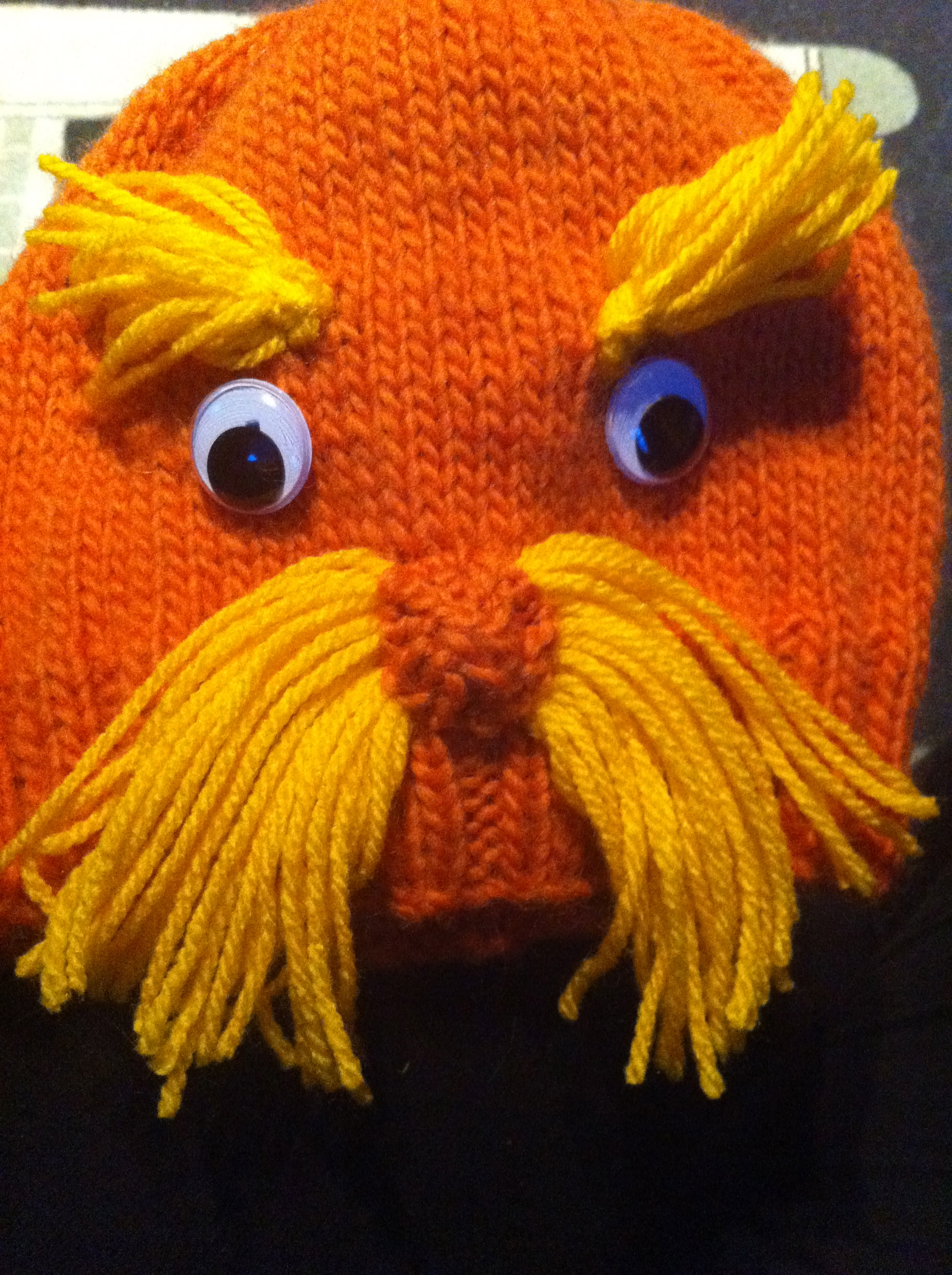 Knitting Patterns Galore The Lorax Dr Seuss Hat