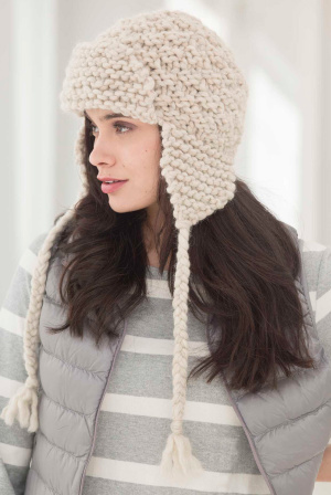 Knitting Patterns Galore Amelia Earflap Hat