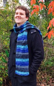 Handsome Man's Sampler Scarf