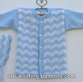 60f3b9835 Knitting Patterns Galore - Baby Ripple Cardigan