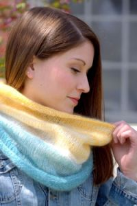 Gradation Knitting Cowl